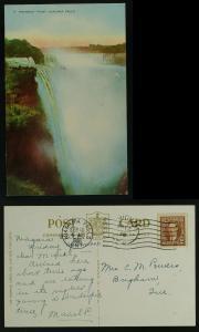 Prospect Point, Niagara Falls Ont to Brigham Que 1938