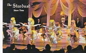Nevada Las Vegas Showgirls At The Stardust Hotel