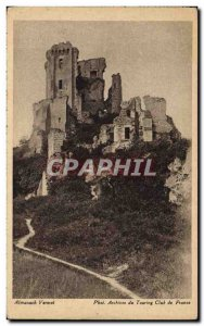 Old Postcard Chateau Lavardin