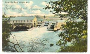 Trowbridge  Dam , Allegan ,  Michigan , PU-1909