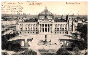 Germany Berlin  Reichstagsgebaude