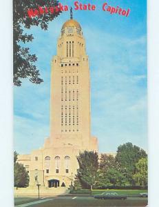Unused Pre-1980 STATE CAPITOL BUILDING Lincoln Nebraska NE G0747