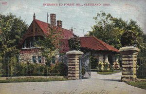 CLEVELAND, Ohio, PU-1907; Entrance To Forest Hill