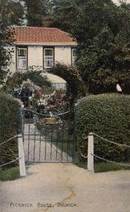 Pickwick House Dulwich Antique Postcard