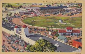 Florida Tampa Florida Fair In Full Swing At Tampa  1946