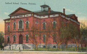 TUCSON , Arizona , 1900-10s ; Safford School