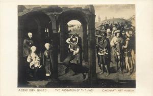 The Adoration of the Magi Dirk Bouts Cincinnati Art Museum RPPC Postcard