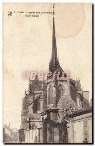 Old Postcard Dijon Apse De La Cathedrale Saint Benigne