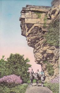 New York Ulster County Battlement Terrace Drive Under Castle Point  Albertype
