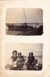 RP: River boat & people , N. China ,00-10s