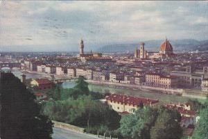Italy Firenze Panoram 1956