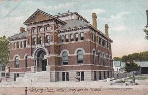 Wallace Library and Art Building Fitchburg Massachusetts 1909