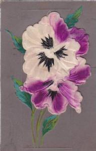 Silk Boston Pansy Flower, PU-00-10s