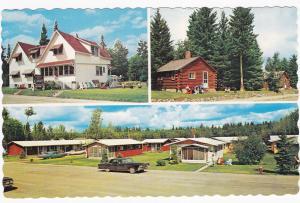 WASAGAMING, Manitoba, Canada, 50-60s; Johnsons Cabins, Riding Mt. Ntnl. Park