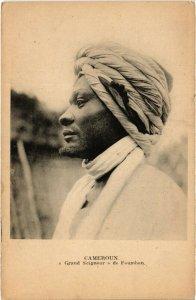 PC CPA CAMEROON, GRAND SEIGNEUR DE FOUMBAN, Vintage Postcard (b20922)
