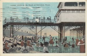 GALVESTON , Texas, 1926 ; Leisure Hours at beach