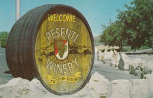 TEMPLETON , California , 1950-60s ; Pesenti Winery Entrance