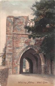 Whalley Abbey West Gate Strasse Tor