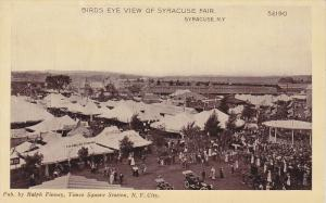 Bird's Eye View Of Syracuse Fair, Syracuse, New York, 1910-1920s
