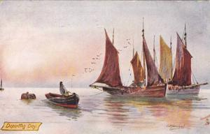 TUCK #6283, Fishing In The North-Sea, Departing Day, 1900-1910s