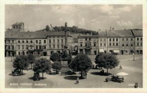 Czech Republic Mähr Trübau Stadtplatz 02.46