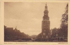 Amsterdam , Netherlands , 00-10s - Oude Schans - Montelbaanstoren
