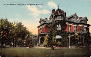 Emporia KS~Mayor Hood Home~Bargeboard Beauty~Dynamic Dorrmers~Immense Ivy c1910