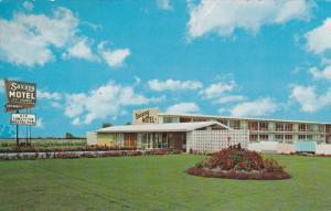 Saxony Motel Ltd. Chatham, Ontario, Canada 1940-60s