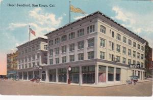 SAN DIEGO , California, 00-10s ; Exterior, Hotel Sandford, Auto Tire Company
