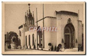 Old Postcard Paris Exhibition of Arts Decoratifs National Flag of Great Britain