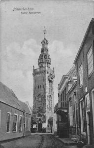 Netherlands Monnikendam Oude Speeltoren Tower Railroad