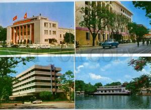142119 VIETNAM HANOY Collection of 9 Original old postcards