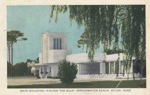 BILOXI , Mississippi , 1940 ; Main Building , Broadwater Beach