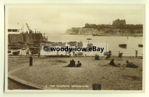 tp8647 - Kent - Old View of  Harbour & across the Bay at Broadstairs -  postcard