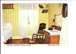 Interior, Marilla's Bedroom, Green Gables, Cavendish, Prince Edward Island