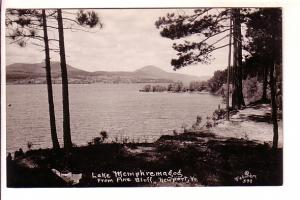 Real Photo, Lake Memphremagog from Pine Bluff, Newport Vermont, Richardson St...