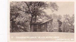 RP ; LESTERVILLE , Missouri, 30-40s ; Fishermans Lodge, Black River Lodge