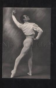 071807 PANOV Famous Russian BALLET Star PHOTO old