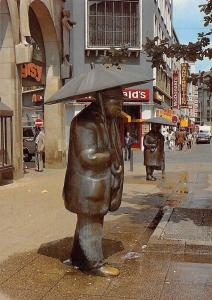 Hannover Regenfiguren von Ulrike Enders Statues