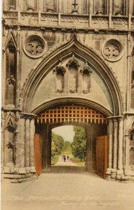 BURY ST EDMONDS , Suffolk , England , 1900-10s ; Portcullis , Abbey Gate