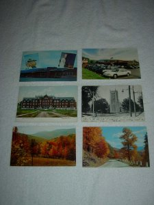 Oneonta NY - Lot Of 6 Great Vintage Postcards - x0595