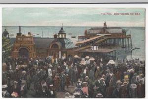 Essex; The Pier, Southend On Sea PPC, Unposted, Shows Entrance Hall