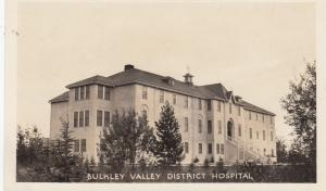 RP: Bulky Valley District Hospital , British Columbia, Canada, 20s-40s