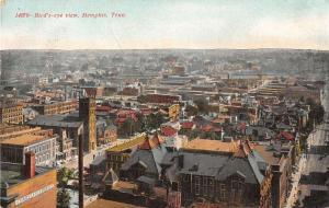 Memphis Tennessee Birdseye View Of City Antique Postcard K24644