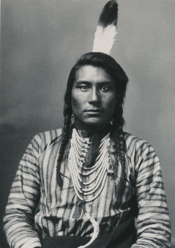 Hail Stone Crow Indian Native American - 1883 Photo - Western USA - Recent Print