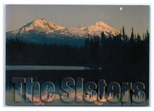 Postcard Three Sisters Wilderness, Cascade Mountains, Oregon OR M8