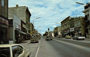 canada, EXETER, Ontario, Main Street, Cars (1982)