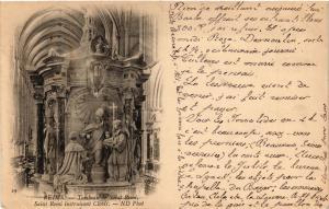 CPA  Reims - Tombeau de Saint-Remi - Saint-Remi instruisant Clovis   (741822)