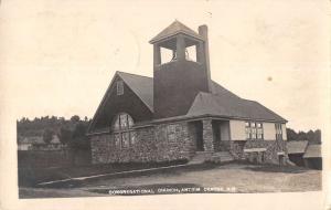 Antrim Centre New Hampshire Congregational Church Real Photo Antique PC K29042