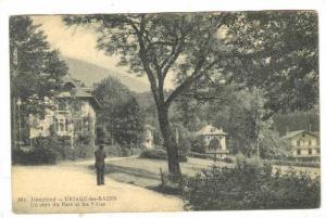 Dauphine - URIAGE-les-BAINS, Un coin du Parc et les Villas, France, 00-10s